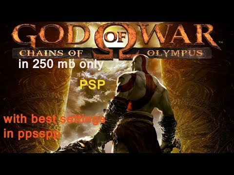 GOD OF WAR CHAINS OF OlYMPUS only 250 mb highly compressed