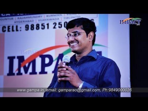 Group Discussion   KVN Karthik   TELUGU IMPACT Hyd 2014