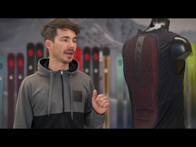 Видео Защита спины Scott RC W AirFlex черная