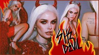SHE DEVIL Full Costume + Makeup Tutorial! ASHTOBERFEST IV