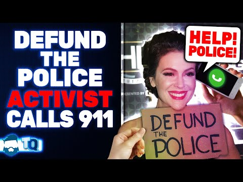 Alyssa Milano DESTROYED After Demanding Defunding Police & Then Calling Them On A Teenager