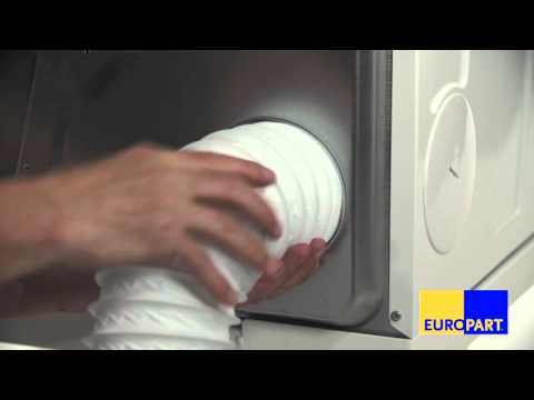 Wie tauscht man den Abluftschlauch eines Trockners?