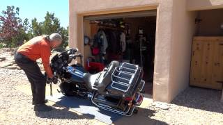 How to Pick up a Big Motorcycle Accidentally Dropped