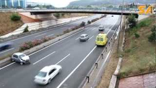 preview picture of video '200512 Accident autovia A2 a Sant Andreu de la Barca'