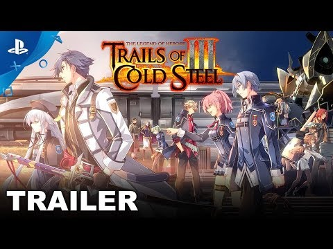 The Legend of Heroes: Trails of Cold Steel III - Announcement Trailer | PS4 thumbnail