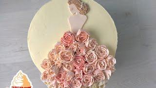 Bridal Shower Torte / Hochzeitstorte / Brautkleid