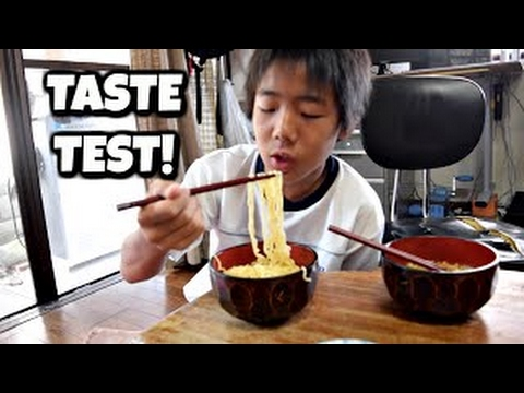 Japanese Ramen VS Indonesian Noodles (INDOMIE)