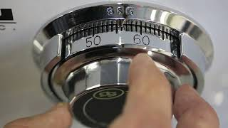 How to Open Your Safe by Dialing the Combination Lock