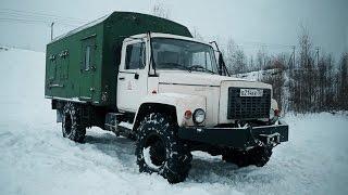 ГАЗон  полный привод. Монстр за 400к рублей.