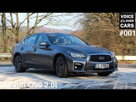 2014 Infiniti Q50 Review Test VLOG - Voice over Cars - Folge #001