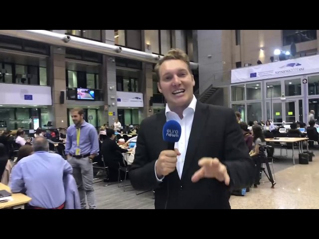 Journalists from around Europe talk about European Council summit