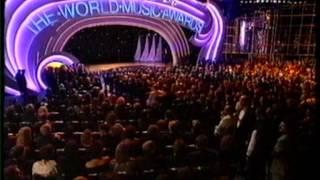 Michael Jackson World Music Awards 1996
