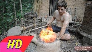 PRIMITIVE TECHNOLOGY LIVE - Wilderness Technology - Primitive My village - Survival Skills Primitive