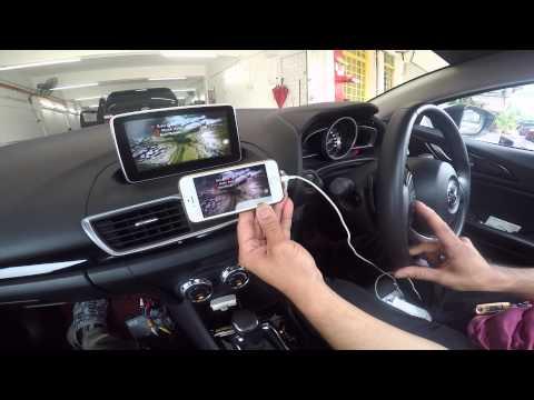 Mazda 3 - Wireless MirrorLINK