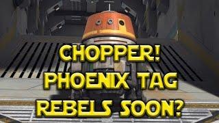 Star Wars: Galaxy Of Heroes - Chopper! Rebels TV Show Characters Coming Soon?