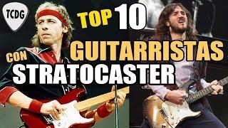 Los 10 Mejores Guitarristas De La Historia Que Usan Guitarras Fender Stratocaster