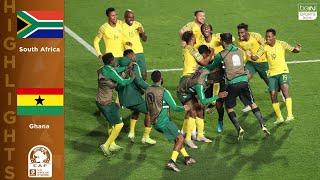 South Africa 2 (6) - (5) 2 Ghana - HIGHLIGHTS & GOALS - 11/2219