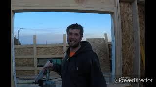 Framing the new Cobblestone Inn, Torrington WY