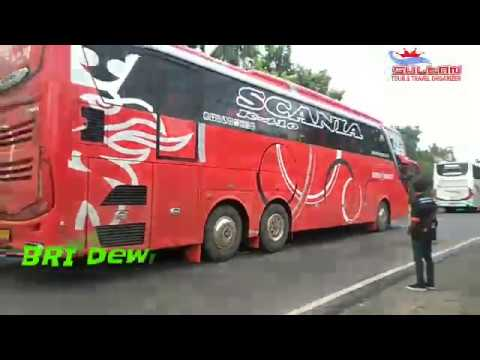 BRI Dewi Sartika Bandung goes to Pangandaran by Scania K410 mantaappp