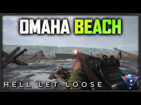 OMAHA BEACH! | Hell Let Loose Gameplay
