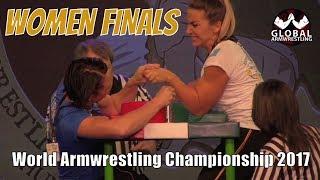 ARM WRESTLING Women (World Championship FINALS 2017)