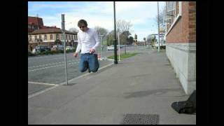 preview picture of video 'Stopmotion skateboarding sillyness'
