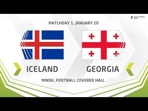 Исландия U17 - Грузия U17 0:3. Видеообзор матча 20.01.2019. Видео голов и опасных моментов игры