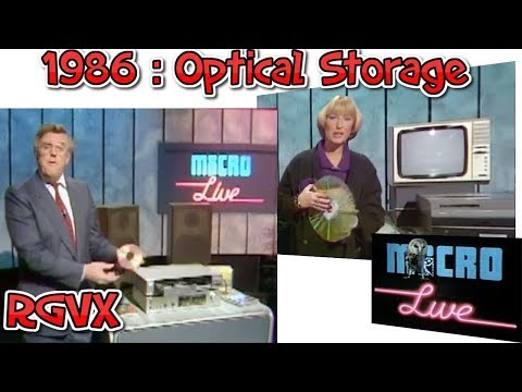 BBC Micro Live 1986 : Optical Storage : LaserVision, Compact Discs & CD-Roms