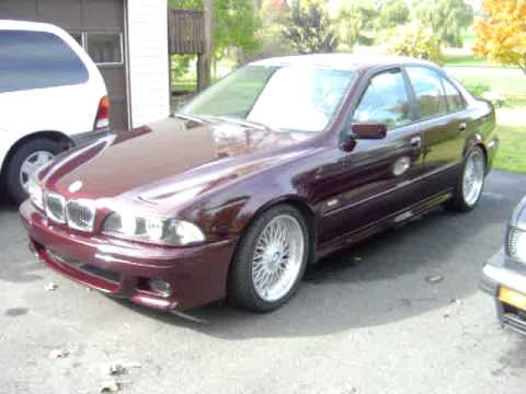 "BMW 528i Sport E39 1998 BBS 18"" Style 5 Wheels Staggered Fully Loaded, Auto, Part 3"