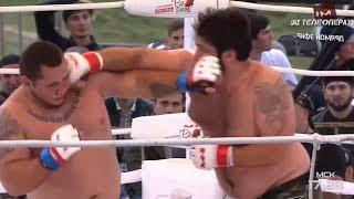 Юрий Проценко vs Заур Гаджибабаев highlights, M-1 Challenge 95