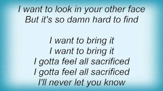 Danzig - Sacrifice Lyrics