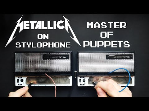 Master of Puppets played entirely on a Stylophone