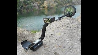 Металлоискатель импульсный Фантом с глубиной поиска до 1,7 м от компании Металлоискатели - видео