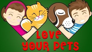Love Your Pets - Short Moral Stories For Kids | Cartoon Stories For Kids | Quixot Kids Stories |