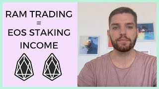 Genius Of EOS RAM Trading & EOS Staked Tokens Income