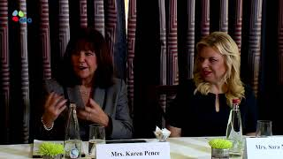 Remarks by Sara Netanyahu and Karen Pence at the Art Therapy Roundtable