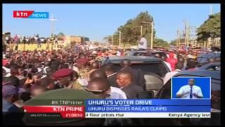 KTN Prime: President Uhuru Kenyatta tells off Raila Odinga over elections' rigging propaganda