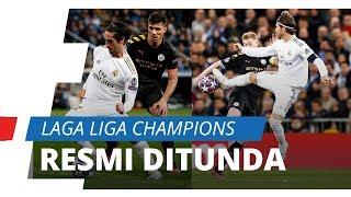 Pertandingan Liga Champions Resmi Ditunda karena Virus Corona