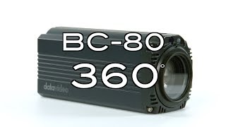 【360 Product Video】BC-80 HD Block Camera