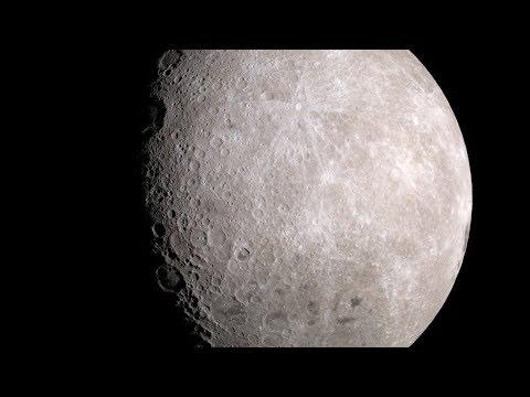 Moonlight (Clair de Lune) 4K Version – Moon Images from Lunar Reconnaissance Orbiter