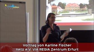 preview picture of video 'Zukunftswerkstatt VIA REGIA - Karline Fischer - Mai 2014 Schloss Königshain'