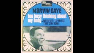 Marvin Gaye- Too Busy Thinking About My Baby