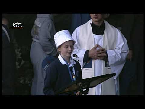 Chapelet à Lourdes du 12 juin 2019