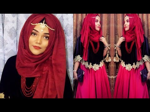 Download Hijab with Gown /Wedding Party Hijab Style || Mutahhara♥️ Mp4 HD Video and MP3