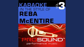 Till Love Comes Again (Karaoke Lead Vocal Demo) (In the style of Reba McEntire)