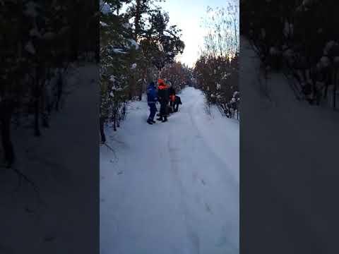 В якутском парке мужчине стало плохо