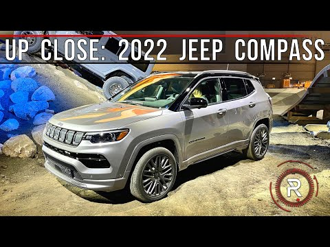 2022 Jeep Compass High Altitude – Redline: First Look – 2021 Chicago Auto Show