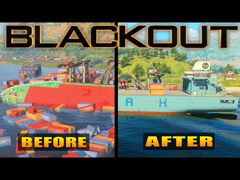 Black Ops 4: ALL New Map Changes in Blackout (Days of Summer)