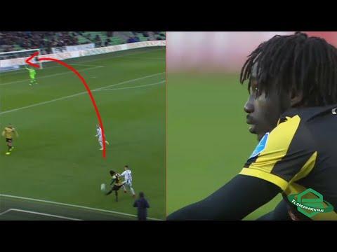 Fankaty Dabo funny own goal ● FC Groningen - Vitesse 19-11-2017 ●