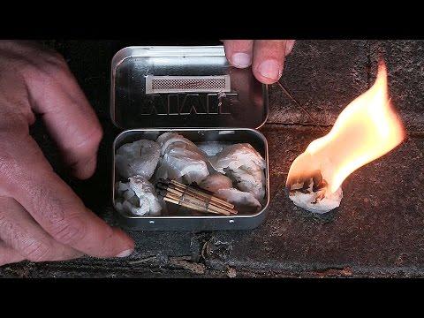Feueranzünder herstellen | URBAN SURVIVAL #1